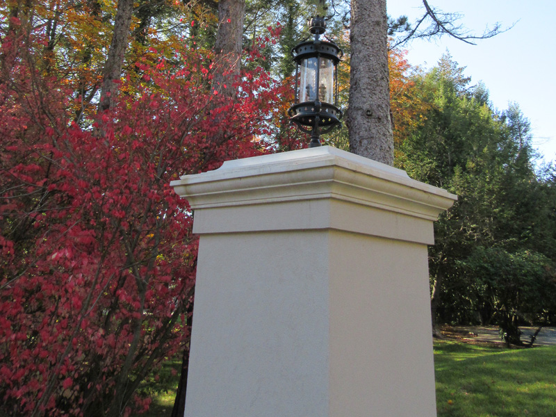 Cast Stone Post Cap