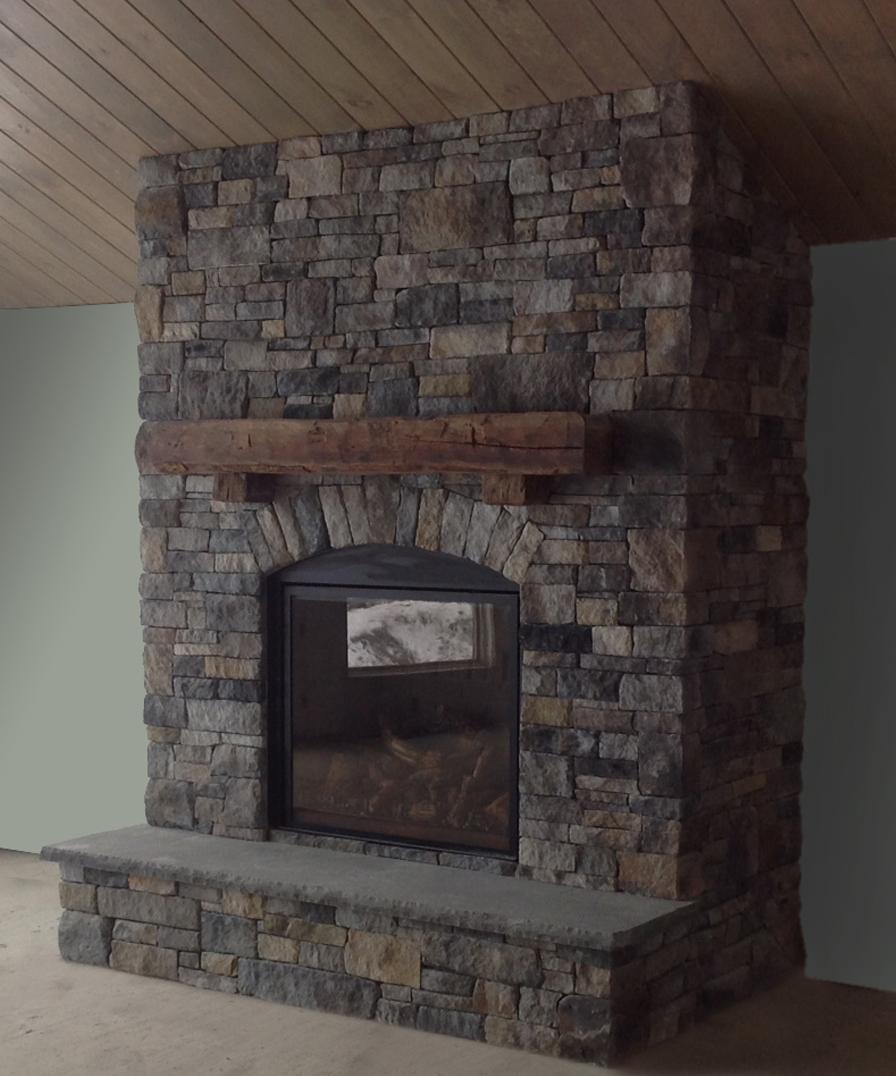 Rustic Charm New England Veneer Stone